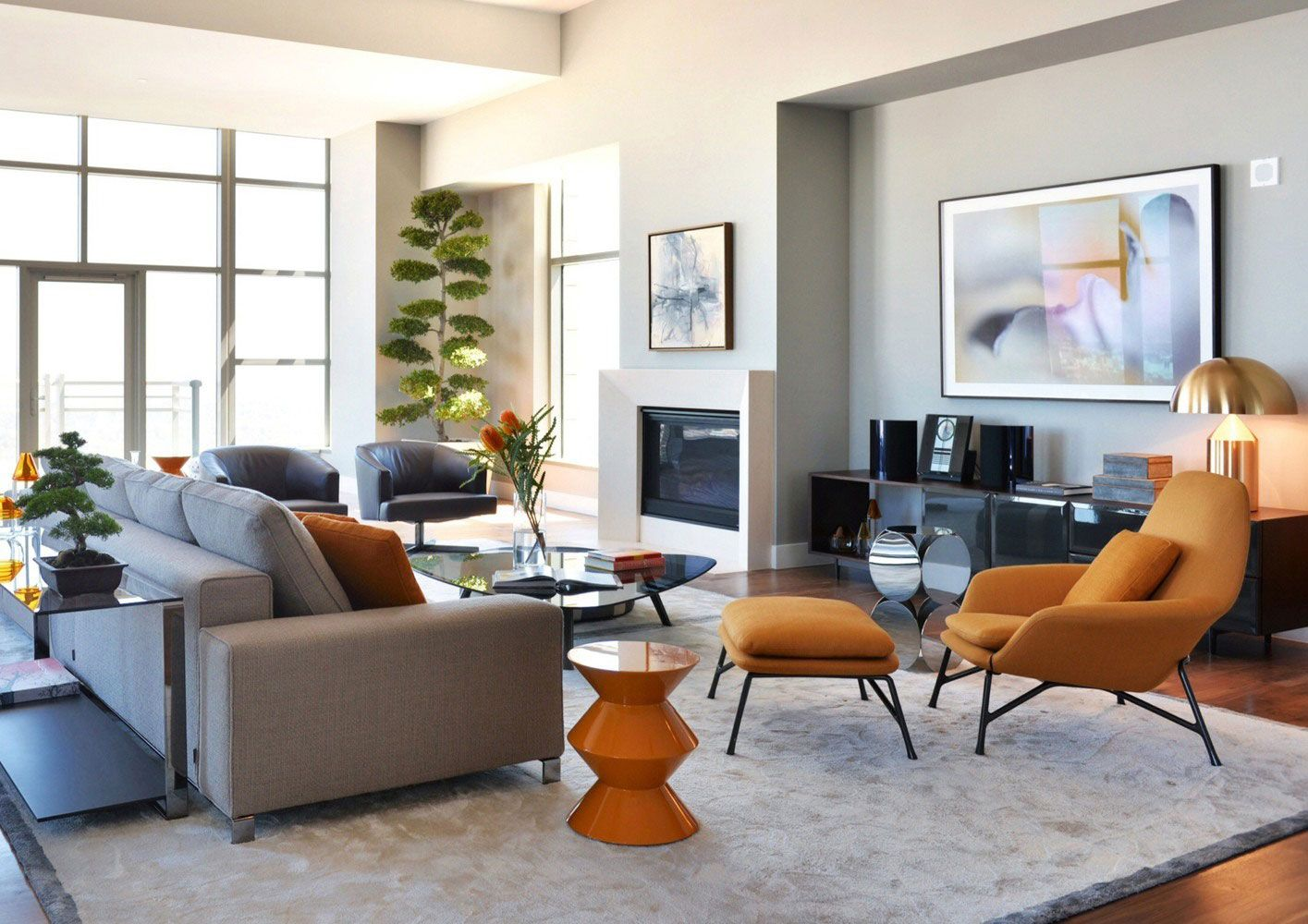 carlyle residence penthouse by minotti caandesign architecture