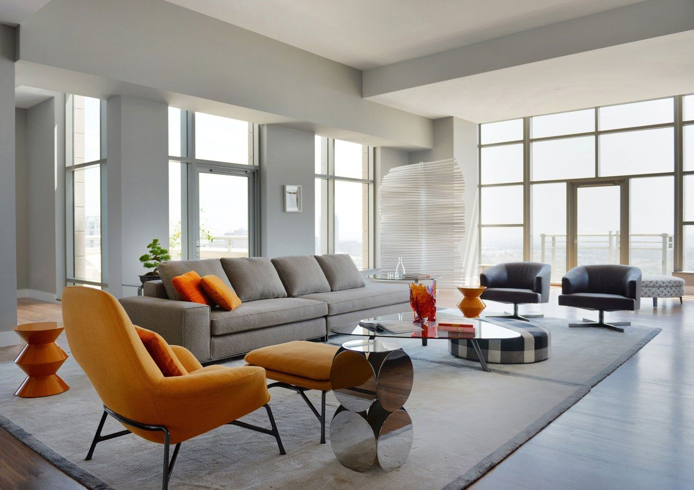Carlyle Residence Penthouse By Minotti Caandesign