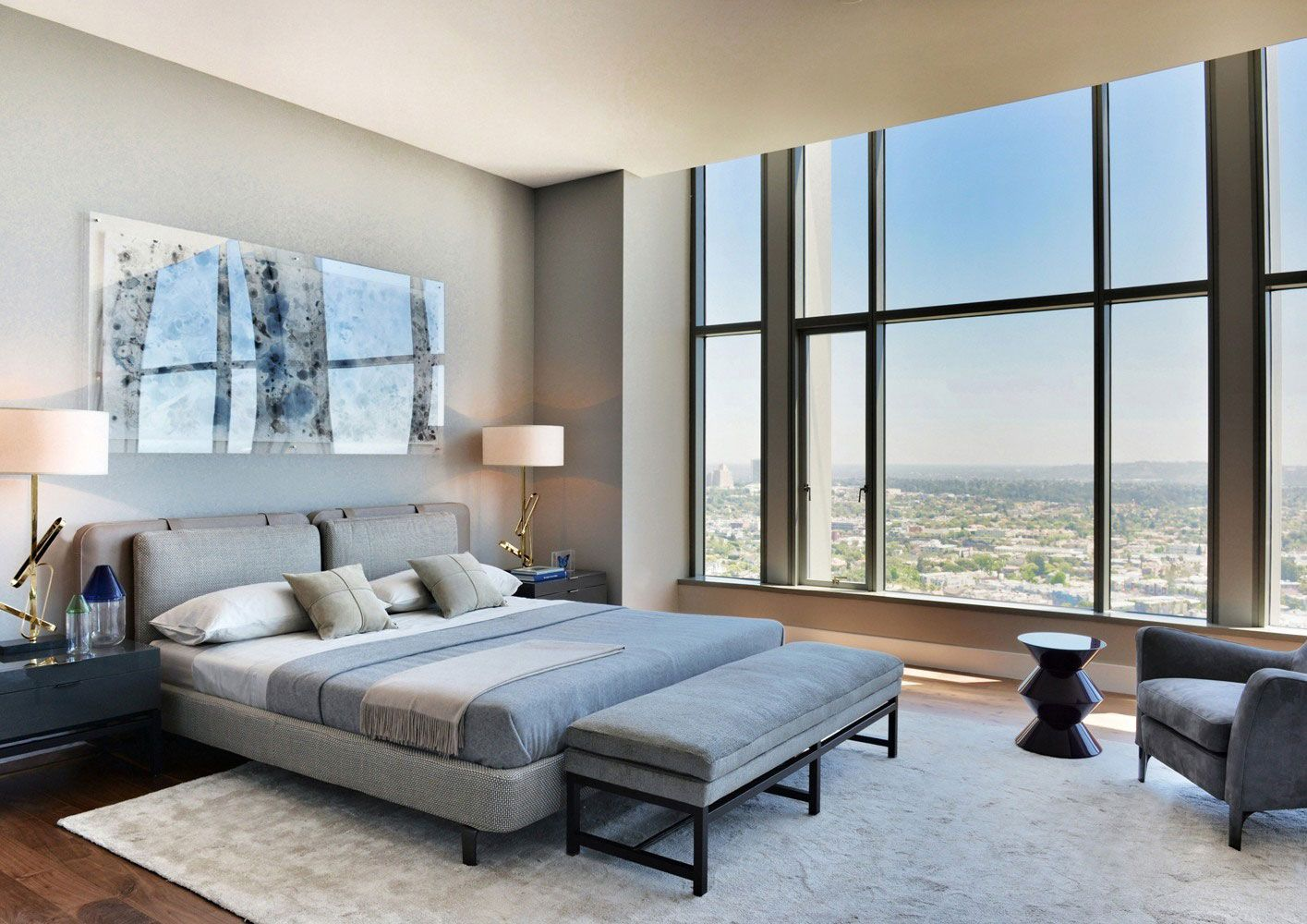 Carlyle Residence Penthouse By Minotti