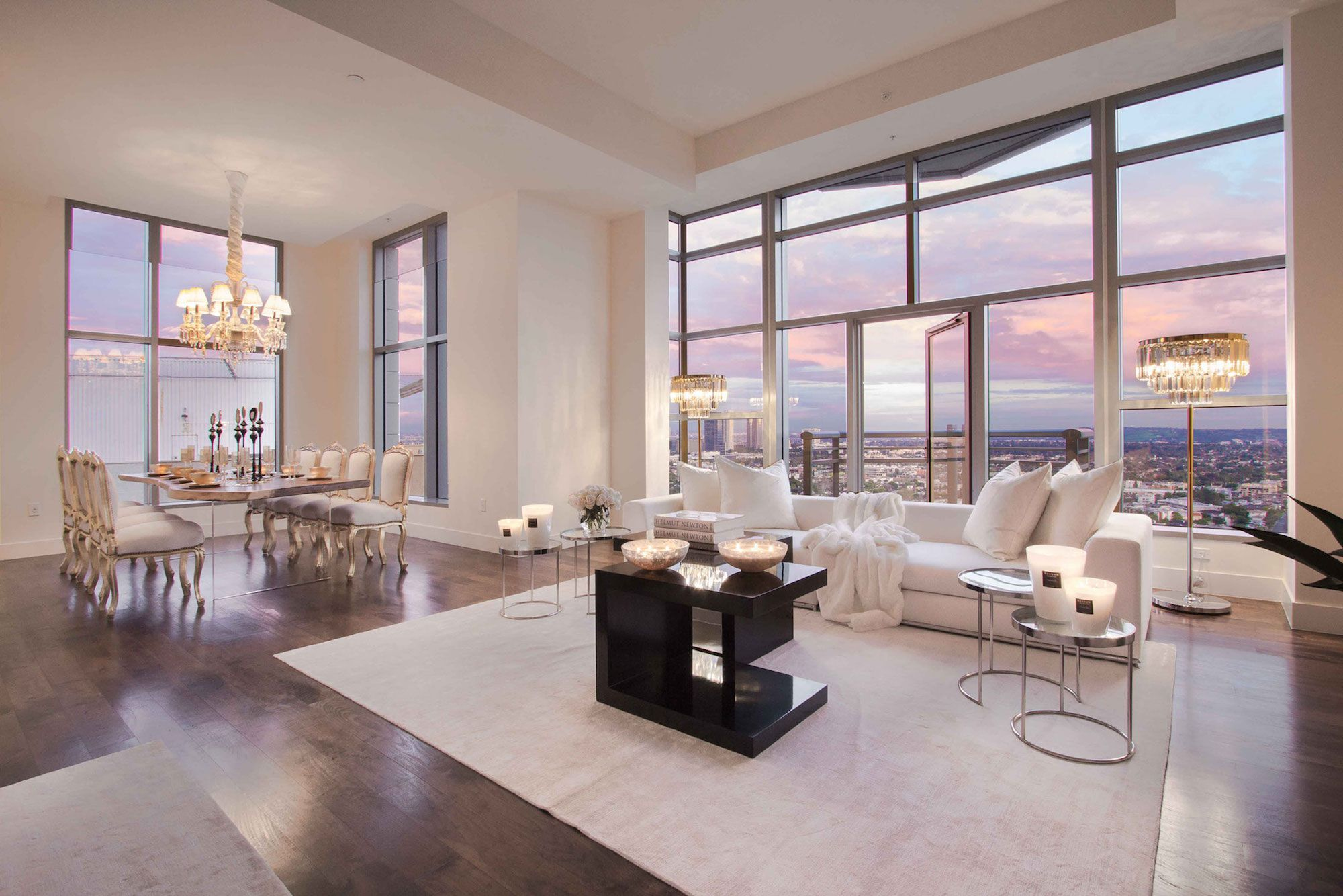 Luxury Penthouse In The Carlyle Residences By Premier Stagers Caandesign Architecture And